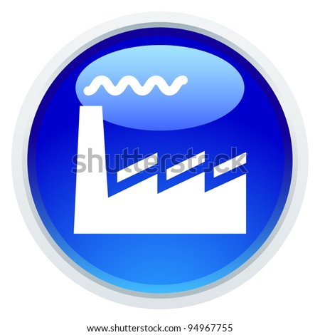 Icon Series - Factory - stock vector