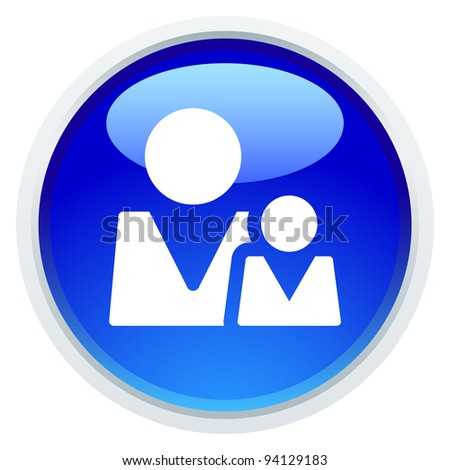 Icon Series - People / Parenthood - stock vector