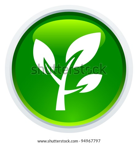 Icon Series - Plant - stock vector