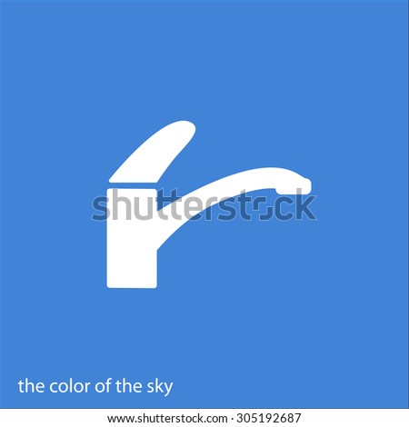 icon tap - stock vector