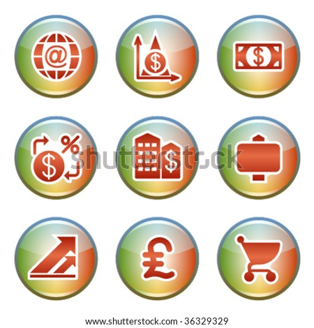 Icons for website 23 - stock vector