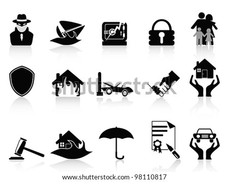 icons set - stock vector