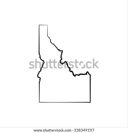 Idaho - stock vector