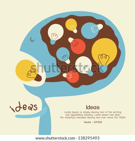 Idea conceptual - stock vector