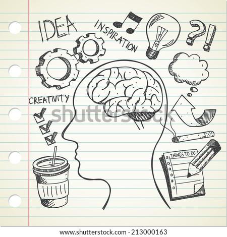idea doodle - stock vector
