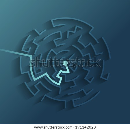 Idea. Vector format - stock vector