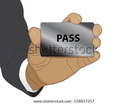 Identification - stock vector