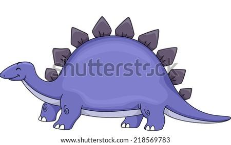 Cute Stegosaurus Gif a Cute Stegosaurus Stock