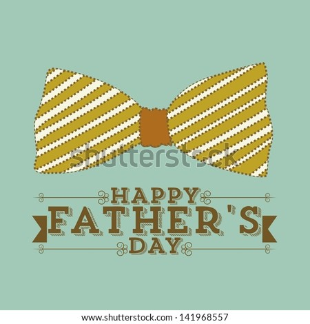 Illustration for dad, happy father's day, vector illustration - stock vector