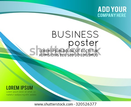 Illustration for your business presentations. - stock vector