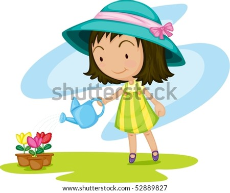 Cartoon Water Plant Stock Photos, Images, & Pictures ...