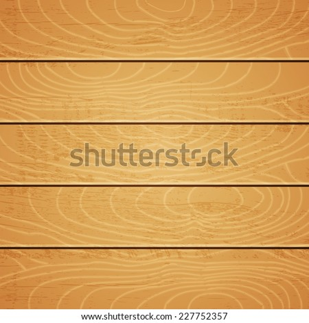Illustration of a light wooden texture - stock vector