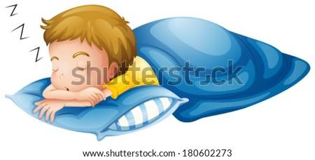 Child Sleeping Illustration Stock Photos, Images ...