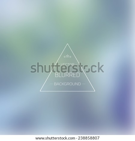 Illustration of Abstract Gradient Mesh Blurred Vector Background - stock vector