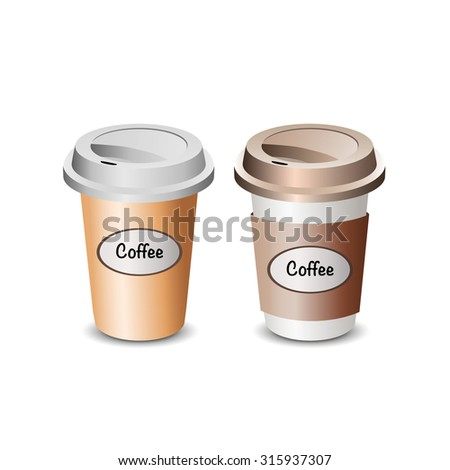 illustration of coffee drink - stock vector