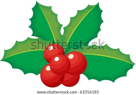 illustration of garland on a white background - stock vector
