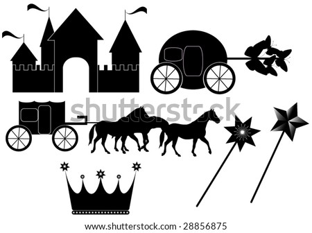 Illustration of toys - stock vector