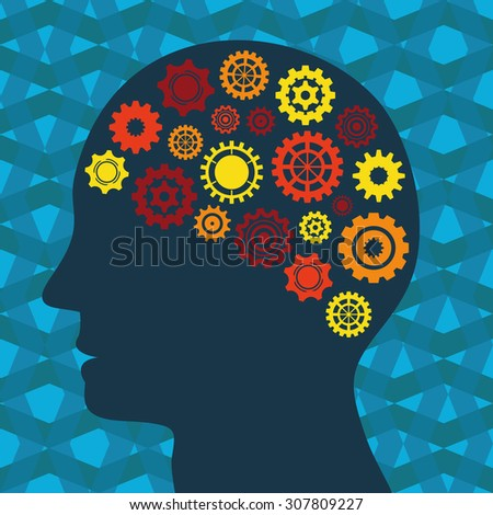 Illustration Vector Graphic Creativity and Ideas for different purpose in web and graphic design - stock vector