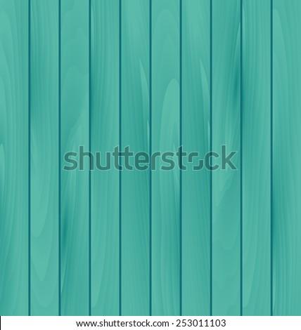Illustration wooden texture, plank background - vector - stock vector