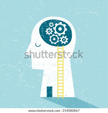 Imagination and Ideas - stock vector