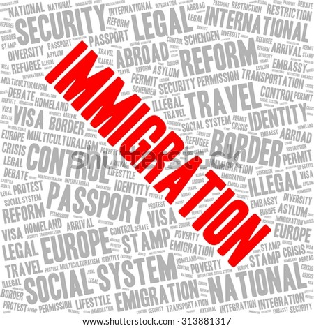 Articles on Immigration policy