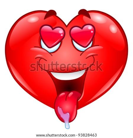 In love heart - stock vector