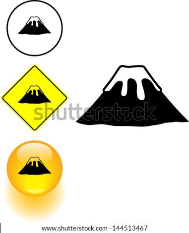 Volcano Symbol Pin Pictures Sirun Nka...