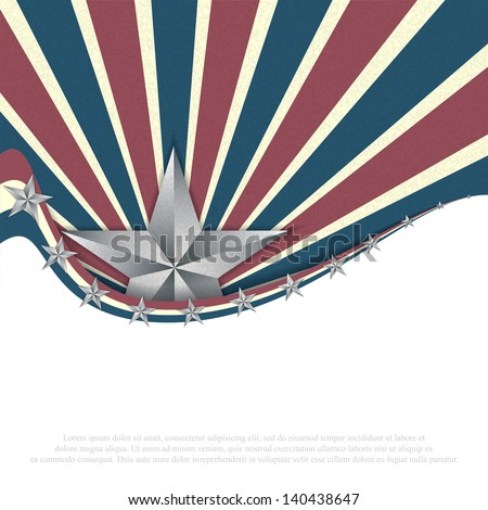Independence day background.Vector - stock vector