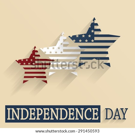 Independence Day. 4th Of July. Vector illustration. - stock vector