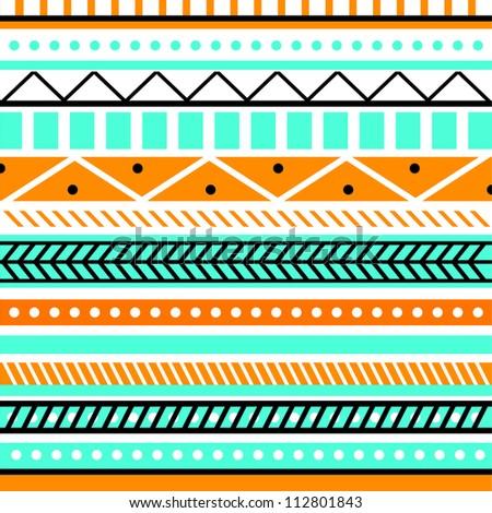 indian ornament. vector illustration - stock vector