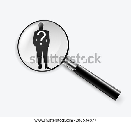 Individual customer service care, personalization, marketing segmentation and targeting, customer relationship management and headhunter human resources concepts. Vector - stock vector