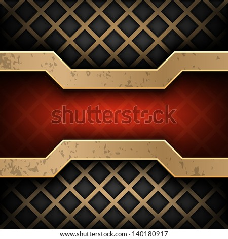 Industrial abstract background - stock vector