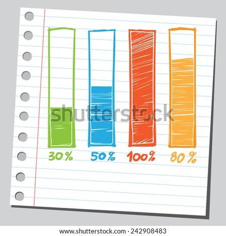 Info graphic diagrams - stock vector