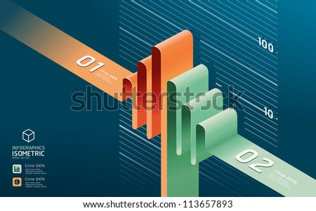 infographic diagram chart. Detailed   / can be used for infographics / graphic or advertise layout vector - stock vector