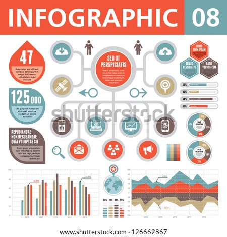 Infographic Elements 08 - stock vector