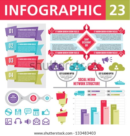 Infographic Elements 23 - stock vector