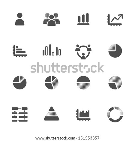 Infographic icons - stock vector