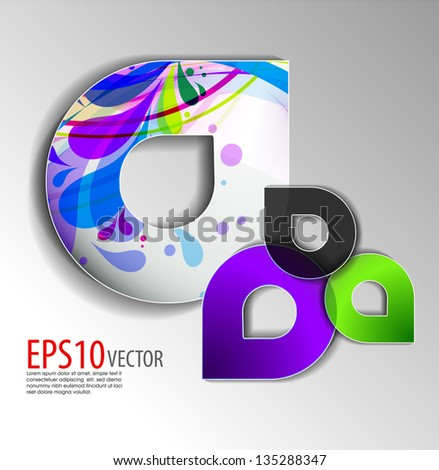 Infographic template design vector for speech , editable illustration - stock vector