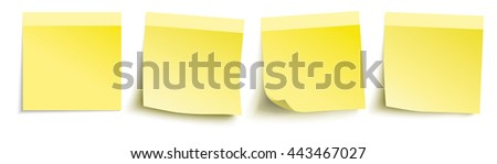 Infographic with colored stickers on the white background. Eps 10 vector file. - stock vector