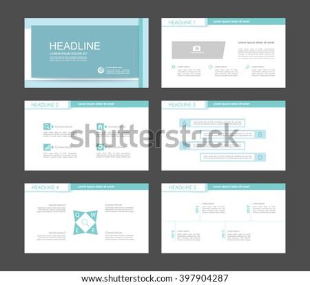 Infographics for leaflet,flyer,presentation,templates,web,marketing. Business infographics, light cyan version. - stock vector