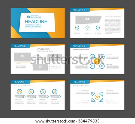 Infographics for leaflet,flyer,presentation,templates,web,marketing. Business infographics, orange and blue version. - stock vector