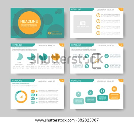 Infographics for leaflet, flyer,presentation,templates,web,marketing. Business infographics, teal and orange version. - stock vector