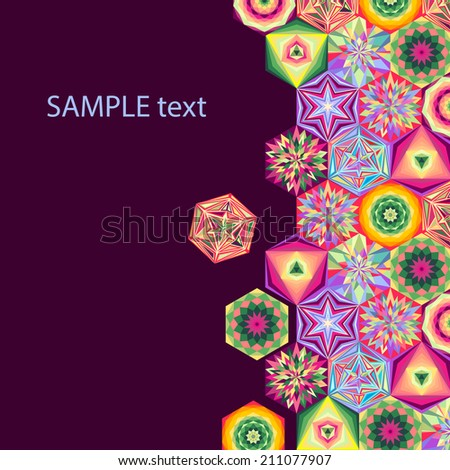 Infographics. futuristic abstract vector background. - stock vector