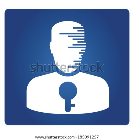 Information Privacy, privacy security, data security - stock vector