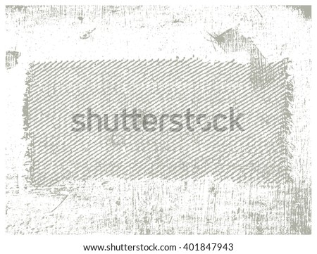 inky grunge background with copy space - stock vector