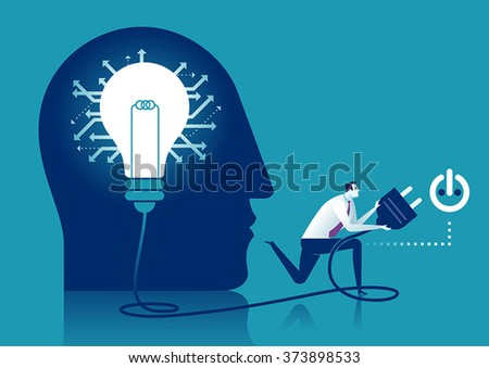 Innovation. Concept illustration. - stock vector