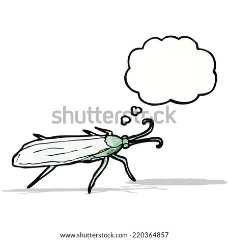 insect illustration - stock vector
