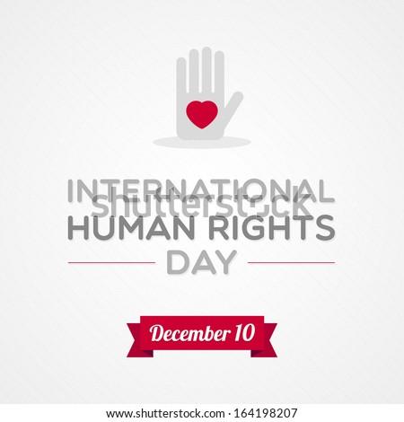 International Human Rights Day - stock vector
