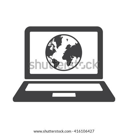 Internet Icon, Internet Icon Eps10, Internet Icon Vector, Internet Icon Eps, Internet Icon Jpg, Internet Icon Picture, Internet Icon Flat, Internet Icon App, Internet Icon Web, Internet Icon Art - stock vector
