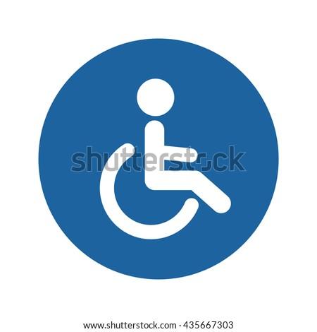 Invalid people icon - stock vector